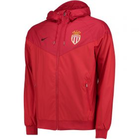 AS Monaco Authentic Windrunner - Red