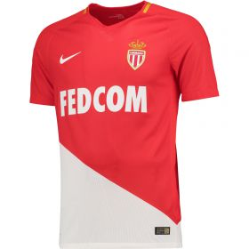 AS Monaco Home Stadium Shirt 2017-18 - Kids