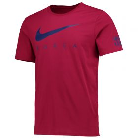 Barcelona Pre Season T-Shirt - Red