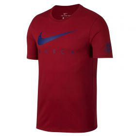 Barcelona Pre Season T-Shirt - Red - Kids