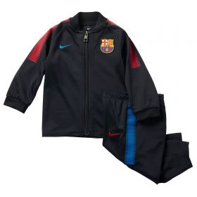 Barcelona Squad Knit Tracksuit - Black - Infants