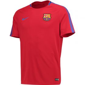 Barcelona Squad Training Top - Red