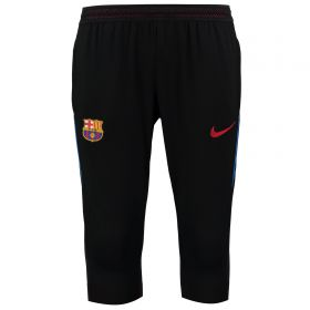 Barcelona Strike Aeroswift 3/4 Pant - Black