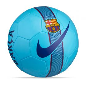 Barcelona Supporters Football - Blue - Size 5