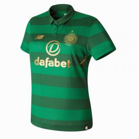 Celtic Away Shirt 2017-18 - Womens with Thomson 52 printing