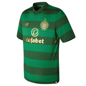 Celtic Away Shirt 2017-18 with Izaguirre 3 printing