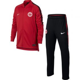 Eintracht Frankfurt Squad Knit Tracksuit - Red - Kids