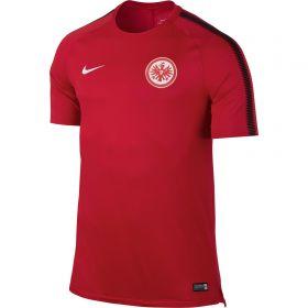 Eintracht Frankfurt Squad Training Top - Red