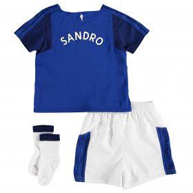 Everton Home Baby Kit 2017/18 with Sandro TBC printing