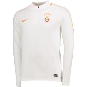 Galatasaray Squad Drill Top - White