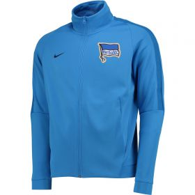 Hertha Berlin Authentic Franchise Jacket - Blue