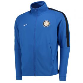 Inter Milan Authentic Franchise Jacket - Royal Blue