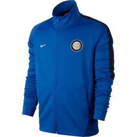 Inter Milan Authentic Franchise Jacket - Royal Blue - Kids