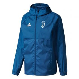 Juventus Training Rain Jacket - Dark Blue