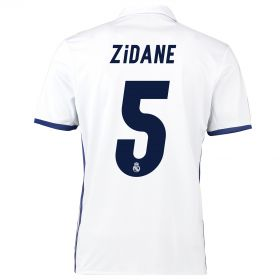 Real Madrid Home Jersey 2016/17 - with Zidane 5 printing