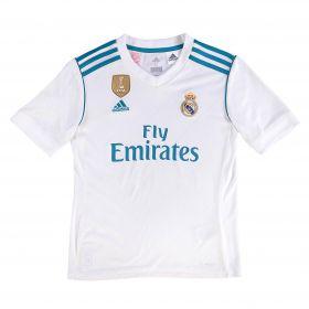 Real Madrid Home Shirt 2017-18 - Kids with Zidane 5 printing