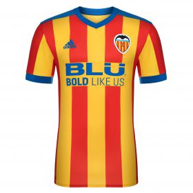 Valencia CF Away Shirt 2017-18 with G. Siqueira 6 printing