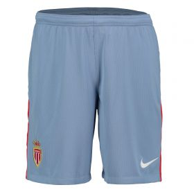 AS Monaco Away Stadium Shorts 2017-18 - Kids