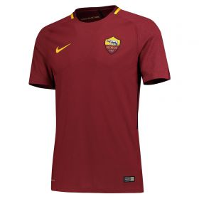 AS Roma Home Vapor Match Shirt 2017-18 with Strootman 6 printing