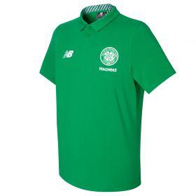 Celtic Elite Media Motion Polo - Celtic Green