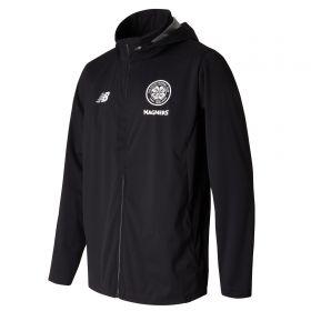 Celtic Elite Training Motion Rain Jacket - Black