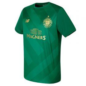 Celtic Elite Training Pre Match Top - Verdant Green