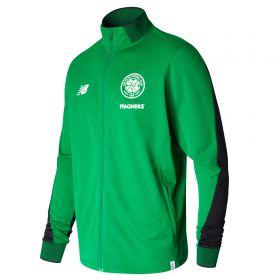 Celtic Elite Training Presentation Jacket - Celtic Green