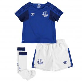 Everton Home Infant Kit 2017/18 with Rooney 10 printing