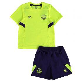 Everton Infant Training Kit - Safety Yellow/Parachute Purple