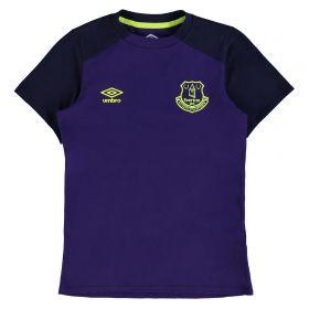 Everton Training CVC Tee - Junior - Parachute Purple/Evening Blue