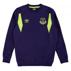Everton Training Drill Top - Junior - Parachute Purple/Safety Yellow