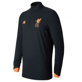 Liverpool Elite Training Midlayer Top - Black