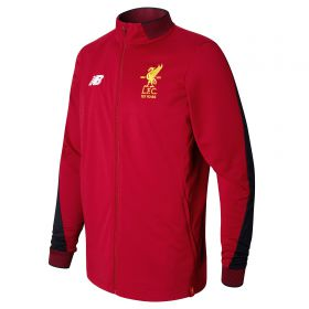 Liverpool Elite Training Midlayer Top - Red Pepper Marl