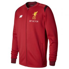 Liverpool Elite Training Walk Out Jacket - Red Pepper
