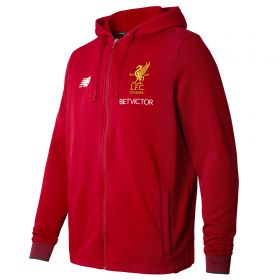 Liverpool Elite Travel Hoody - Red Pepper