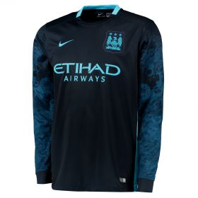 Manchester City Away Shirt 2015/16 - Long Sleeve