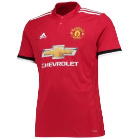 Manchester United Home Shirt 2017-18 with Pogba 6 printing