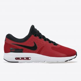 Nike Air Max Zero Essential Trainers - Tough Red/Black/White/Wolf Grey