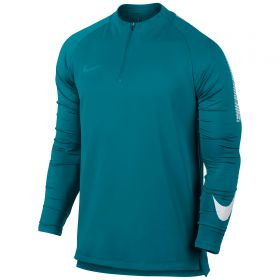 Nike Dry Squad Drill Top - Blustery/White/Blustery
