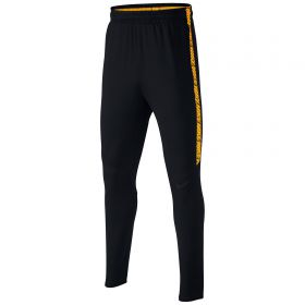 Nike Dry Squad Pants - Black/Black/Laser Orange/Black - Kids