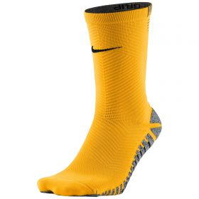 Nike Grip Strike Light Crew Football Socks - Laser Orange/Black