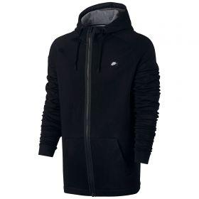 Nike Sportswear Modern FZ Hoodie - Black/Carbon Heather