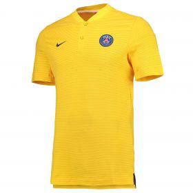 Paris Saint-Germain Authentic Grand Slam Polo - Yellow - Kids