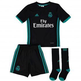 Real Madrid Away Mini Kit 2017-18 with Vallejo 3 printing