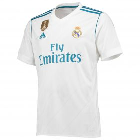 Real Madrid Home Shirt 2017-18 with Vallejo 3 printing