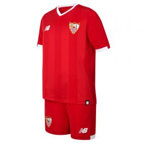 Sevilla Away Kit Set 2017-18 - Kids