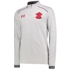 Southampton 1/4 Zip Training Top - Glacier Gray