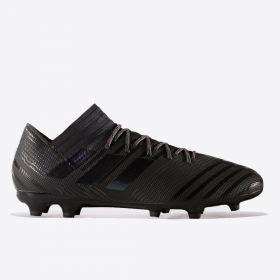 adidas Nemeziz 17.3 Firm Ground Football Boots - Core Black/Core Black/Utility Black