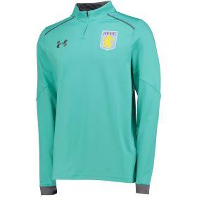 Aston Villa 1/4 Zip Training Top - Mosaic