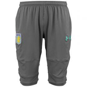 Aston Villa 3/4 Training Pants - Graphite